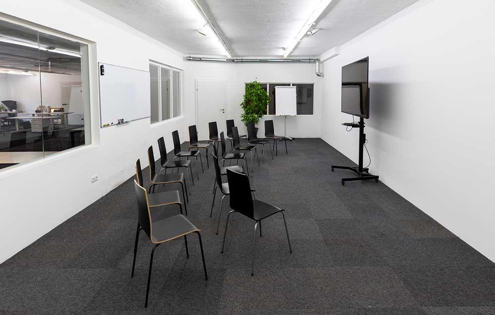 seminarraum ohne Tische